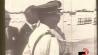 Haile Selassie Arrives In Trinidad (21.04.66)