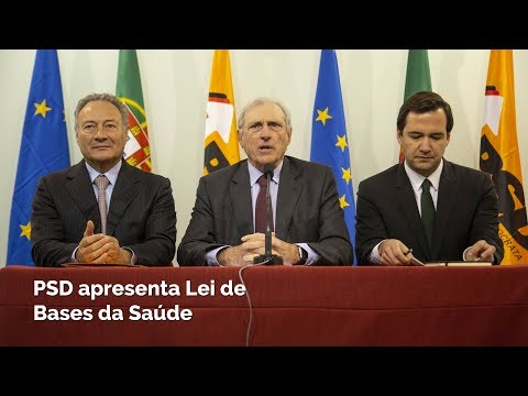 PSD apresenta Lei de Bases da Saúde