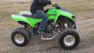4. 2007 Kawasaki KFX 700 Quad Atv Fully Auto With Reverse For Sale From Saferwholesale.com