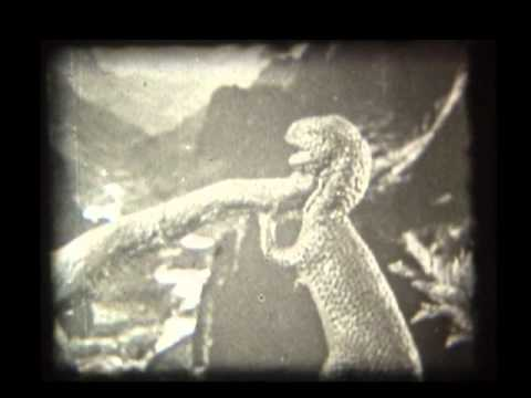 The Lost World 1925 excerpts from the debut 8mm film release