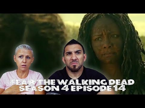 Fear the Walking Dead Season 4 Episode 14 'MM 54' REACTION!!