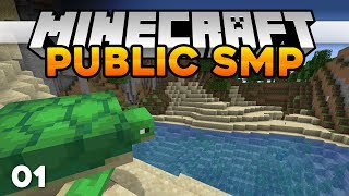 Minecraft: Public SMP | COME JOIN ME! •