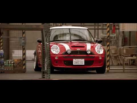 The Italian Job (2003) Charlize Theron -- John Barry - Beat Girl (Extended)