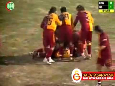 Aydın Yılmaz - Konyaspor 0 - 1 Galatasaray.. (-1.GOL-) 22.01.2006