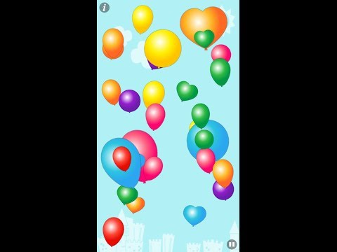 Video of Colorful Balloons for kids