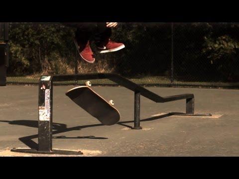 Ett gäng schyssta skateboardtrick i 1000 fps