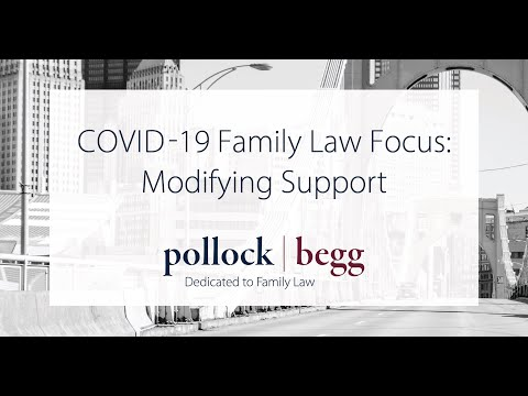 Can You Modify Child Support While Courts Are Closed Due to COVID-19? Video
