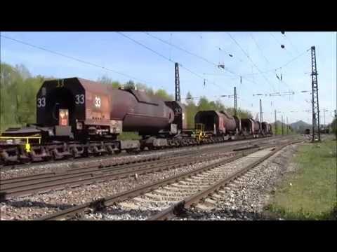 Züge auf der Saarstrecke (Saarbrücken-Trier)