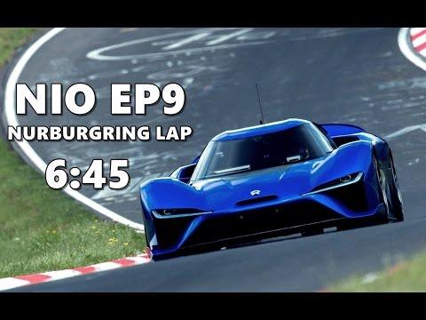NIO EP9 Nurburgring Lap Record 2017 (Onboard Footage)