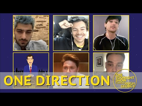 One Direction Reunion on The Toonight Show