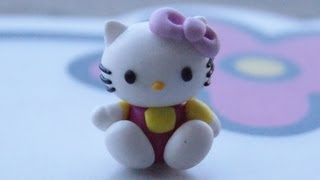 Hello Kitty: Polymer Clay - YouTube
