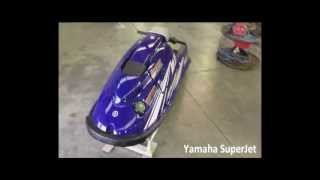 5. Yamaha WaveRunner SuperJet Video Tour