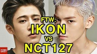 Video iKON vs NCT127 • For The Win MP3, 3GP, MP4, WEBM, AVI, FLV April 2018