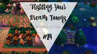 Touring the beautiful towns of Au City and Rosedew! Creators and dream addresses are below. Hope you enjoyed!!▿▿▿▿▿▿▿▿▿▿▿▿▿▿▿▿▿▿▿▿▿▿▿▿▿▿▿▿▿▿▿▿▿▿▿▿▿▿▿▿▿▿▿▿▿▿▿▿▿▿▿▿▿▿▿▿▿▿▿▿▿▿▿▿▿▿▿▿▿▿DREAM TOWNS ▹‣ Au City //  7E00 - 000F - 43C1 // insta @crosser_princess‣ Rosedew // 5B00 - 004A - 998F // tumblr @hybrid-flowersWANT TO HELP SUPPORT MY CONTENT? ▹‣ https://www.patreon.com/mischacrossingMY UPLOAD / STREAM SCHEDULE ▹Mondays ‣ o f fTuesdays ‣ Viewer dream town toursWednesdays ‣ Stardew ValleyThursdays ‣ ACNL Versus w/PwnapplezFridays ‣ Breath of the Wild + Twitch stream @ 11AM ESTSaturdays ‣ Birthdays the BeginningSundays ‣ ACNL livestream @ 2pm ESTFOLLOW ME ▹TWITCH ‣ https://www.twitch.tv/mischacrossingDISCORD ‣ http://discord.gg/w9YSdR7  TWITTER ‣ http://twitter.com/mischamuffinTUMBLR ‣ http://www.mischacrossing.comINSTAGRAM ‣ http://instagram.com/mischamuffinSpread love. xoxo
