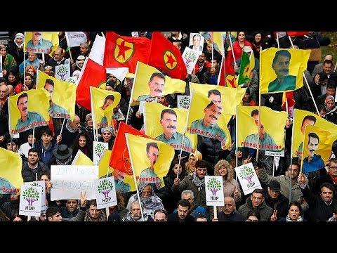 Βέλγιο: Διαδήλωση Κούρδων κατά του Ερντογάν