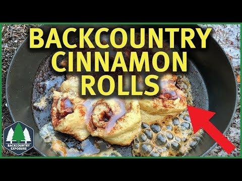 Backcountry Cinnamon Rolls   Fry-Bake Friday