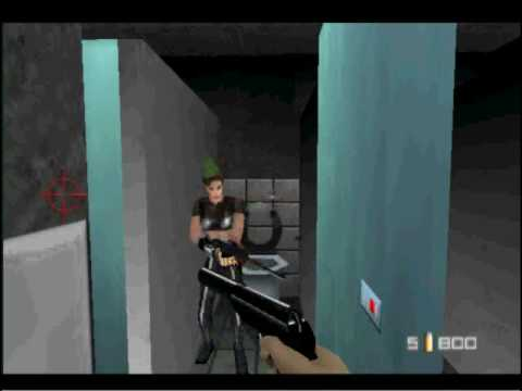 N64 GOLDENEYE--I LOVE THIS GAME!