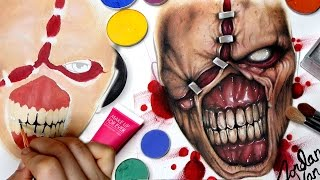 """Welcome to my Nemsis from Resident Evil Face Chart Drawing & Painting time lapse! Hope you enjoyed the oddly satisfying feeling of art coming together on paper instead of my body for once! Using just makeup and brushes I create the iconic zombie video game and movie character in facechart form.Don't worry, though this is a """"series"""" I'm not oNLY going to be doing these on my channel. They are just a great way to bring in a different element of my artistry to you guys! I will be throwing them in periodically! FOLLOW ME:Instagram: @jordanhanzhttp://www.instagram.com/jordanhanzTwitter: @jordanhanzhttp://www.twitter.com/jordanhanzSnapchat: jordan_hanzFacebook: Jordan Hanzhttps://www.facebook.com/pages/Jordan-Hanz/295184987353909?fref=tsTwitch TV: Jordanhanzhttp://www.twitch.tv/jordanhanzPeriscope: @jordanhanz (for LIVE streaming)PRODUCTS USED:Make Up For Ever Flash PaletteMehron Makeup Contour & Highlight Pressed Powder PaletteMakeup Geek Cherry Cola, Corrupt, and Cabin Fever eyesahdows / XOXO blushMake Up For Ever NEW AQUA XL Ink liner in M-14 (white)ALL Make Up For Ever & Sigma brushes used!CODES/LINKS:// MAKEUP GEEK COSMETICShttps://www.makeupgeek.com/store/eye-products/eyeshadows/makeup-geek-eyeshadows.html?acc=7f100b7b36092fb9b06dfb4fac360931// MORPHE BRUSHESUse code """"JORDANHANZ"""" for 10% off site wide!http://www.morphebrushes.com// SIGMA BEAUTYUSE code """"JORDANHANZ"""" for 10% off site wide!http://sigma-beauty.7eer.net/c/134412/146780/2835?u=http%3A%2F%2Fwww.sigmabeauty.com%2Fe20-short-shader%2Fp%2FE20PARNT// GERARD COSMETICSUse code """"Jordan"""" for 25% off site wide!http://www.gerardcosmetics.com//NUBOUNSOM 3D RUSSIAN (LASHES)Use code """"jordanhanz: for 20% off site wide!http://nubounsom.com// MUSIC  SOUNDS:provided by Monstercat: a paid monthly no copyrights song servicehttp://www.monstercat.comFirst song: My Dear - Summer Was FunSecond Song: Over You - SoupandreasFTC: Some of these links are affiliate links which I make a small commission percentage through. You don't hav"""