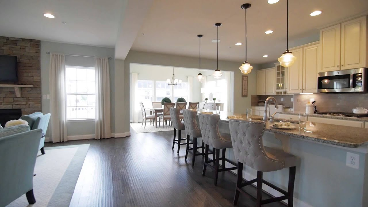 New homes for sale at bentley park in burtonsville md for Model home flooring