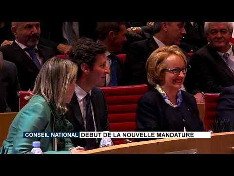 Conseil National : Début de la nouvelle mandature