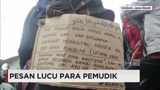 Video Lucu! Tulisan Pemudik dalam Perjalanan Pulang Kampung - Mudik Lebaran 2017 MP3, 3GP, MP4, WEBM, AVI, FLV Oktober 2018