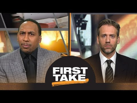 Stephen A. and Max debate if LeBron James has gotten better with age | First Take | ESPN