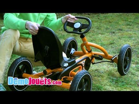 Kart Berg Buddy Orange Part1 Le Montage Test - Démo Jouets