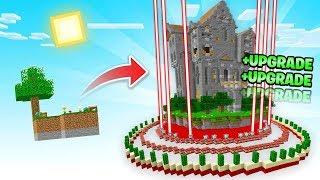 I BUILT An *ANTI* Troll Castle in Sky Block!