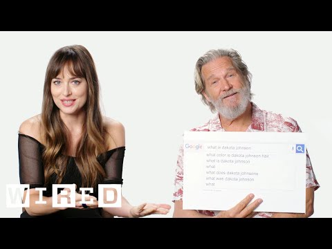 Dakota Johnson and Jeff Bridges Answer the Internet s Most Searched Questions About