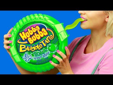 Огромные и миниатюрные сладости – 7 идей (видео)