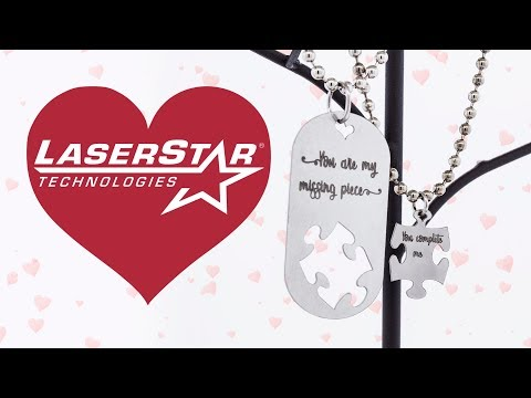 <h3>Laser Cutting & Engraving | Valentines Day Jewelry</h3><p>In this laser cutting video we demonstrate the FiberStar CNC Laser Cutting Machines ability to laser cut customized designs out of stainless steel as well as custom laser engrave a personalized message using our FiberCube Engraving System.<br /><br />Happy Valentines Day from all of us here at LaserStar Technologies!</p>