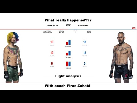 Sean O'Malley vs Marlon Vera what really happened