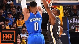 Golden State Warriors vs Oklahoma City Thunder Full Game Highlights / Feb 6 / 2017-18 NBA Season