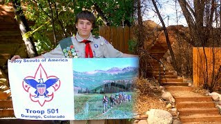 Building the Steps to Eagle Scout