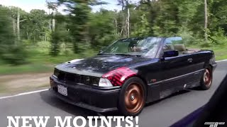 Turbo E36 gets Solid Condor Speed Motor/Trans mounts! by Ignition Tube