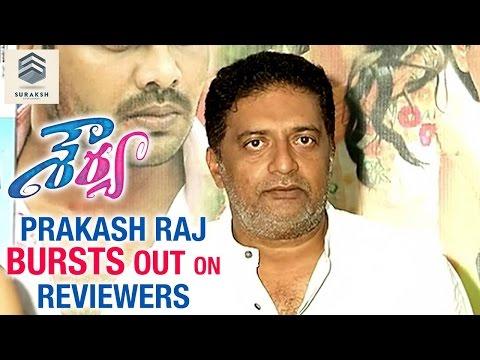 Prakash Raj criticizes online reviews on Shourya press meet