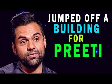 Abhay Deol - I jumped off a building for Preeti Desai
