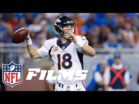 Video: #2 Peyton Manning Returns from Neck Injury to Lead Broncos | Top 10 Player Comebacks | NFL