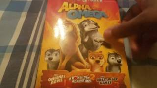 Alpha and omega 3 movie pack dvd unboxing