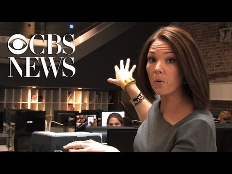 cbs - Behind-the-scenes tour of the CBS Broadcast Center with Erica Hill, co-host of