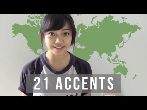 21 accents - in which i try to do accents. hope you enjoy! please comment, like & subscribe so i know that you're watching! :3 tell me which one you like most, or tell me...