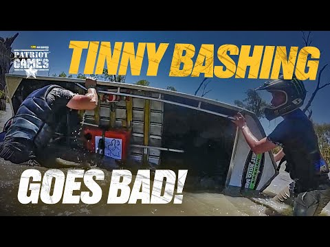 Tinny Bashing, It's Race Day At The Dinghy Derby • Patriot Games Season 3 • Episode 4