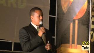 Comedy - Comedian Abiy (Jammy) Stand-up Comedy At Guma Film Award