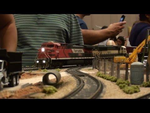 XVII Convencion de Ferromodelistas y Ferroaficionados - Guadalajara 2013 - Trenes Ferromex