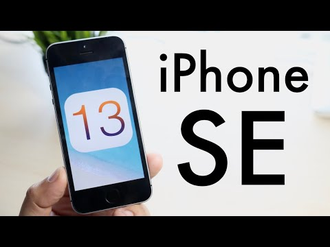 iOS 13 OFFICIAL On iPhone SE! (Review)