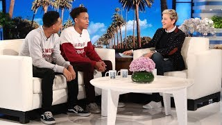 Video Ellen Meets Viral College Acceptance Brothers MP3, 3GP, MP4, WEBM, AVI, FLV Oktober 2018