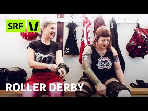 Roller Derby: Kitty La Bang fährt mit der Schweizer Nati an die WM | Virus Voyage | SRF Virus