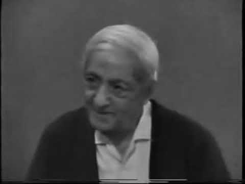 Jiddu Krishnamurti - What Is Materialism? (part 1)