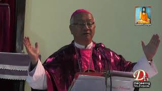 The Most Rev. Bishop Stephen Lepcha of Roman Catholic Diocese of Darjeeling