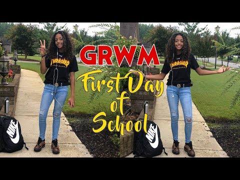 GRWM First Day Of School 2018 | LexiVee03